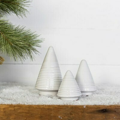 Sm Striped Ceramic Tree