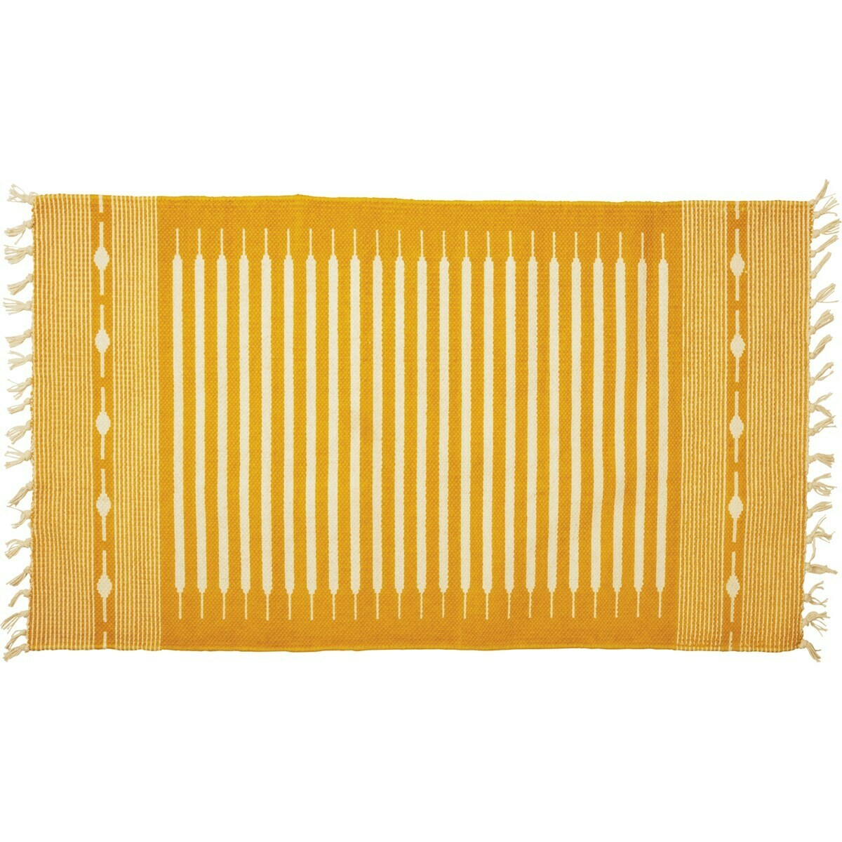 Saffron Striped Rug