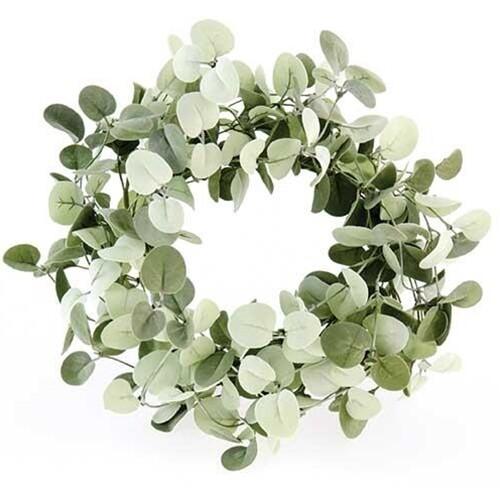 Silver Drop Eucalyptus Wreath