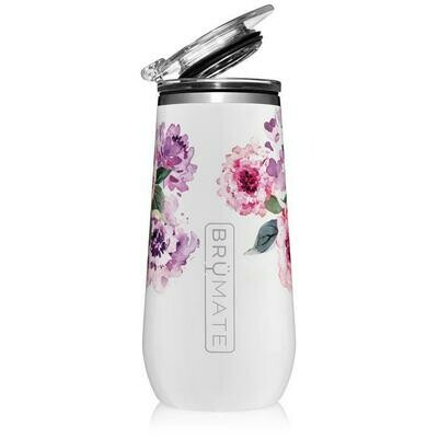 Peony Champagne Flute
