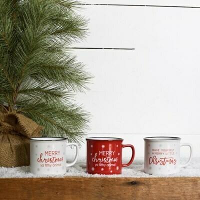 Asst Christmas Mugs
