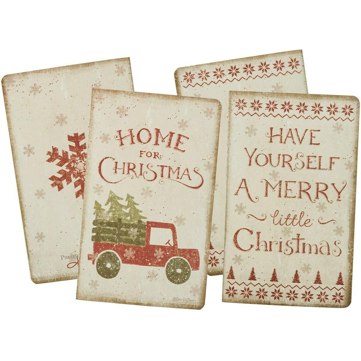 Christmas Lg Notebook Set
