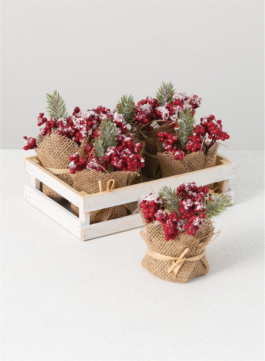 Burlap Berries
