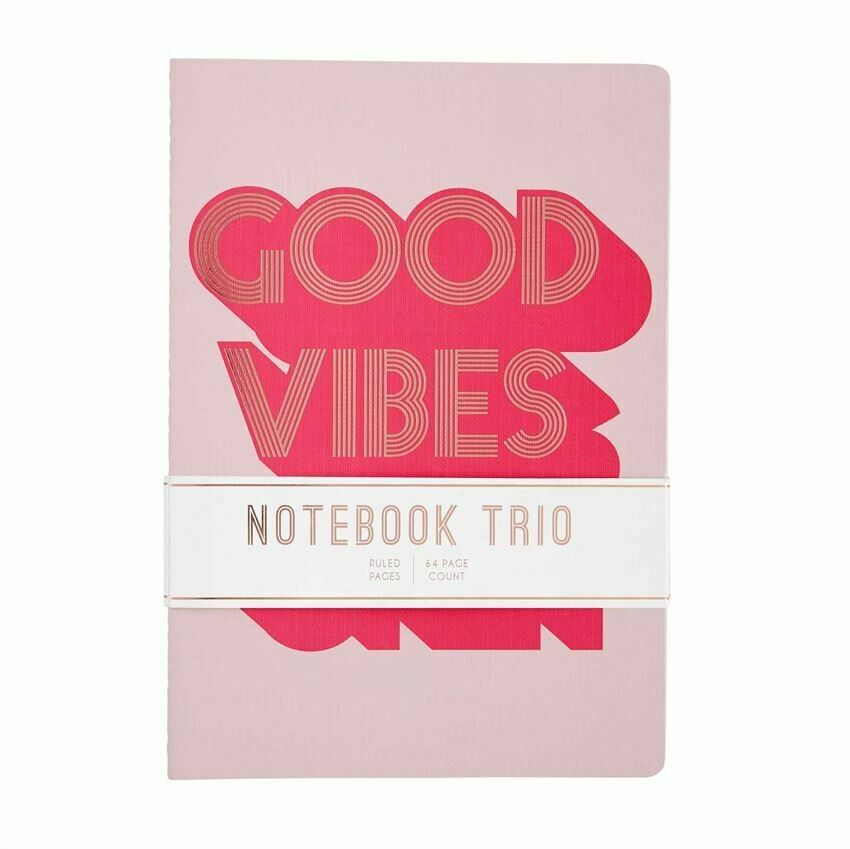 Pink Notebook Trio