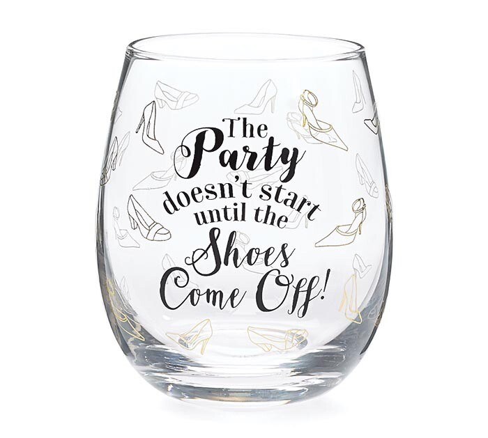 The Party Stemless Wine Glass