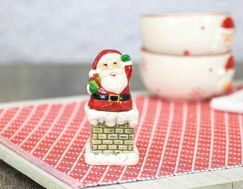 Santa & Chimney S&P Shakers
