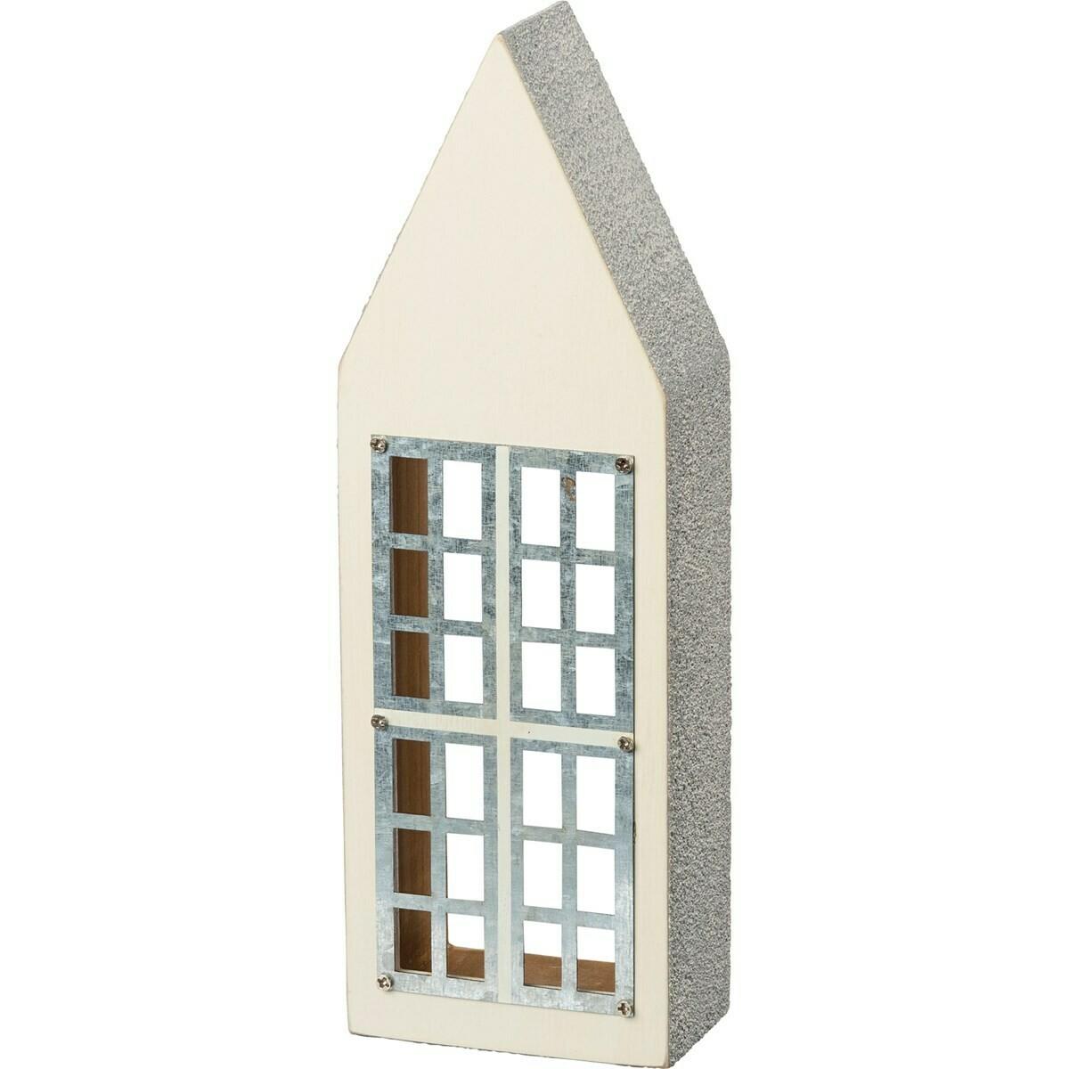 Cream Wooden House