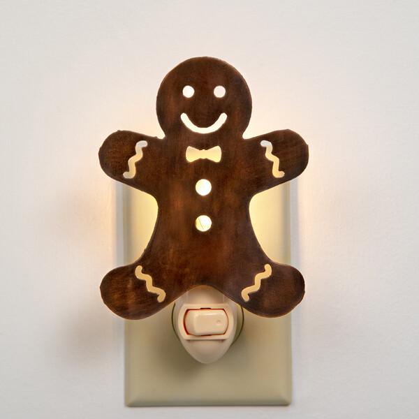 Gingerbread Night Light