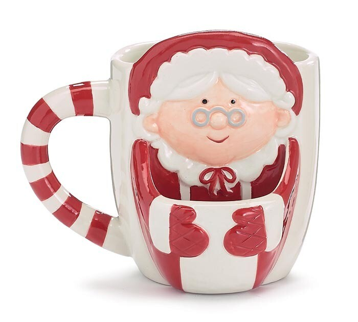Mrs.Clause Cookie Mug
