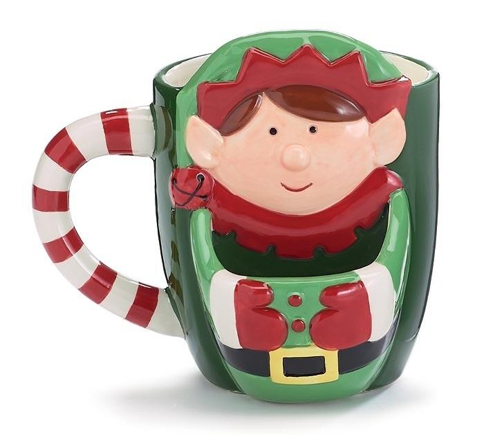 Elf Cookie Mug