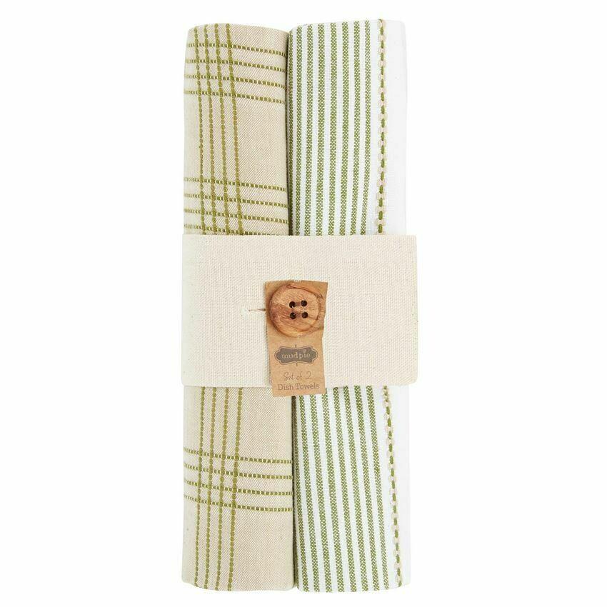 Striped Dish Towel Set