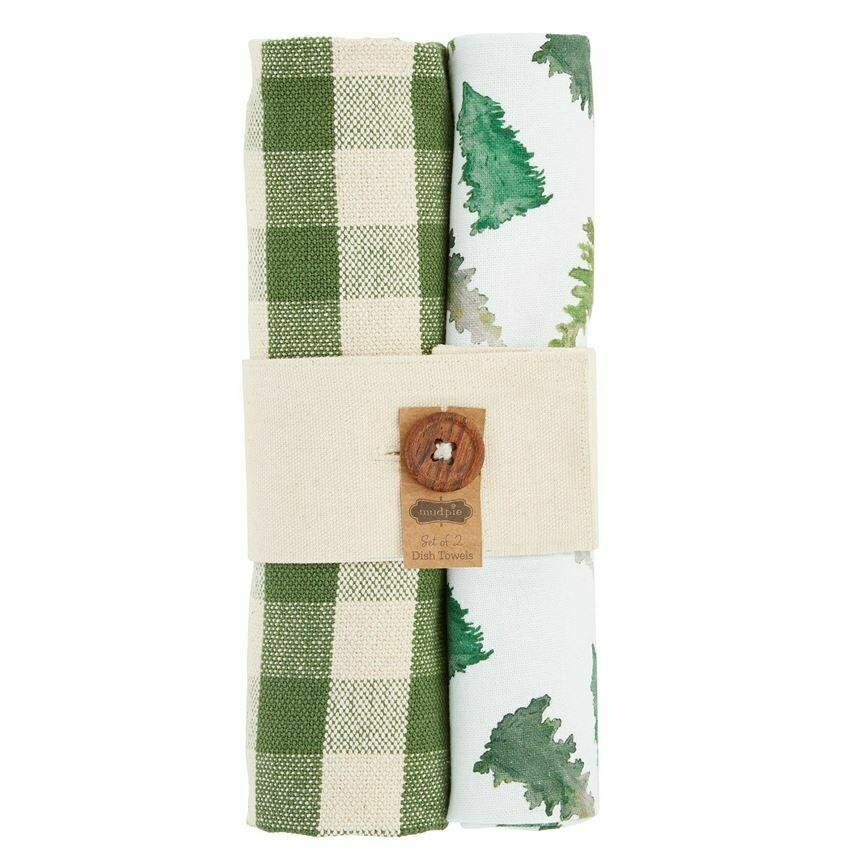 Tree Dish Towel Set