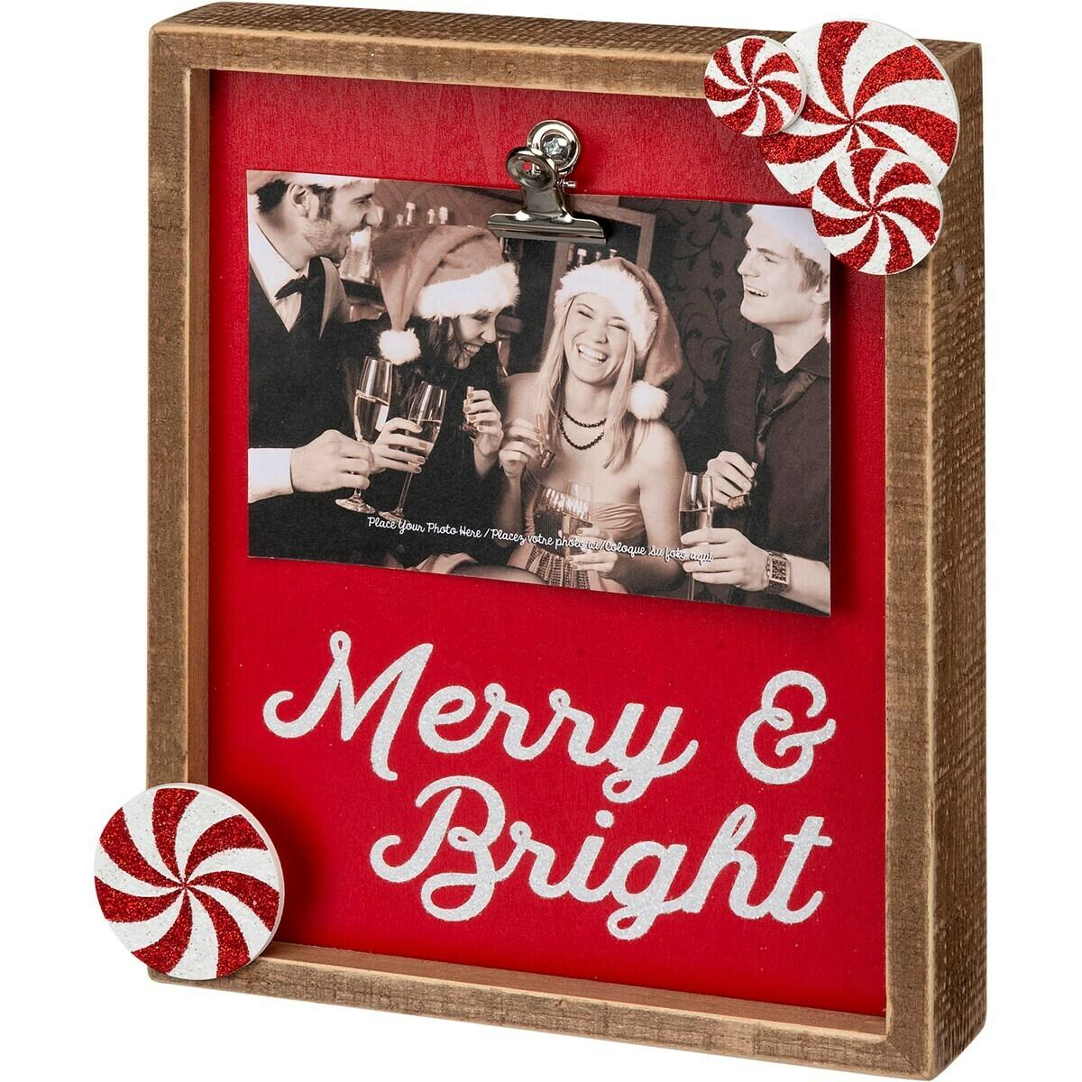 Merry & Bright Frame