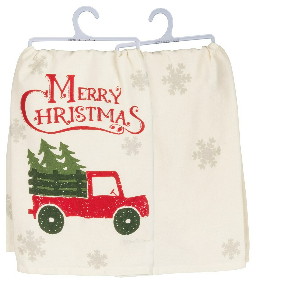 Merry Christmas Truck Towel
