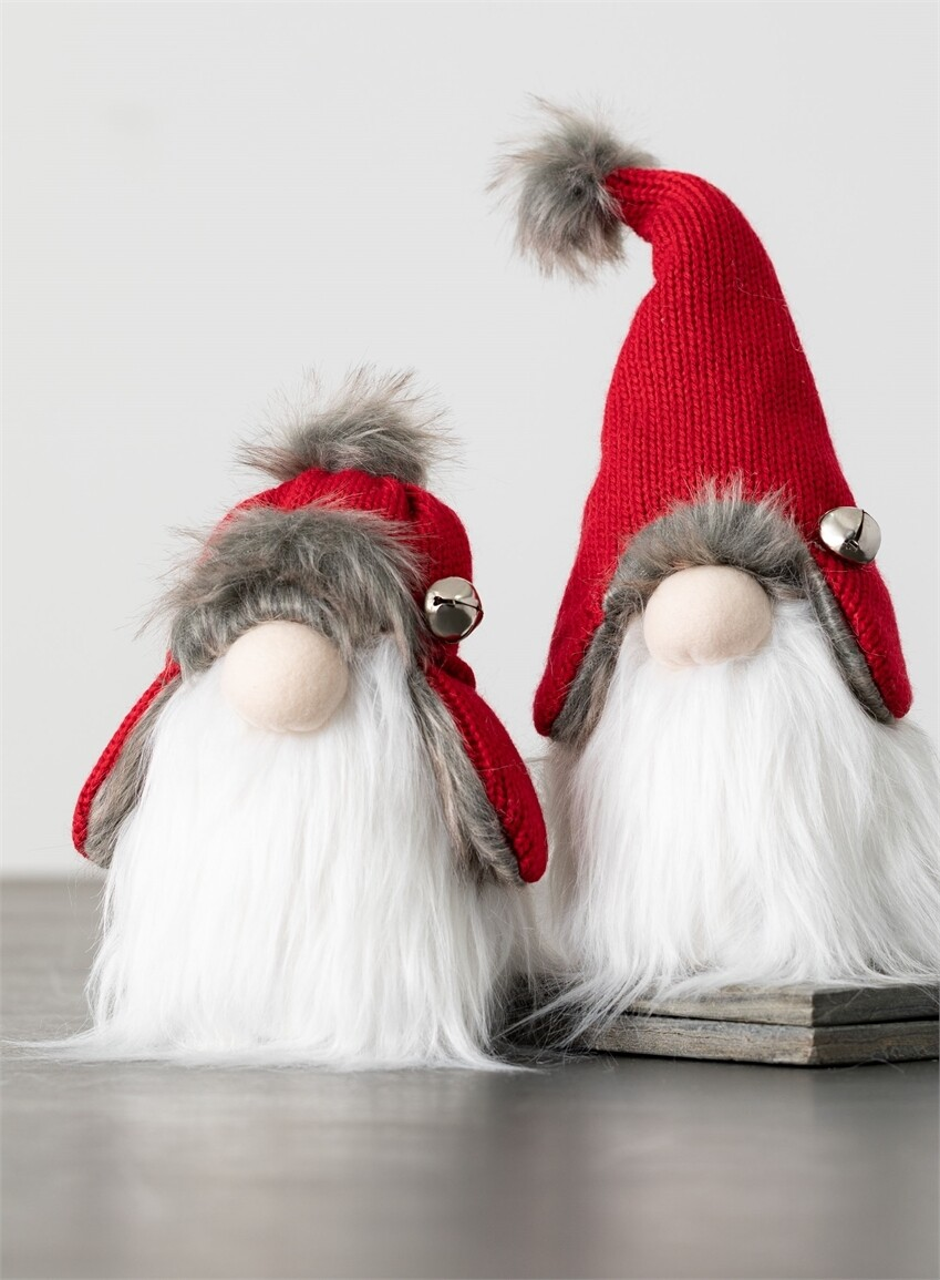 Sitting Gnomes with Bell Hat