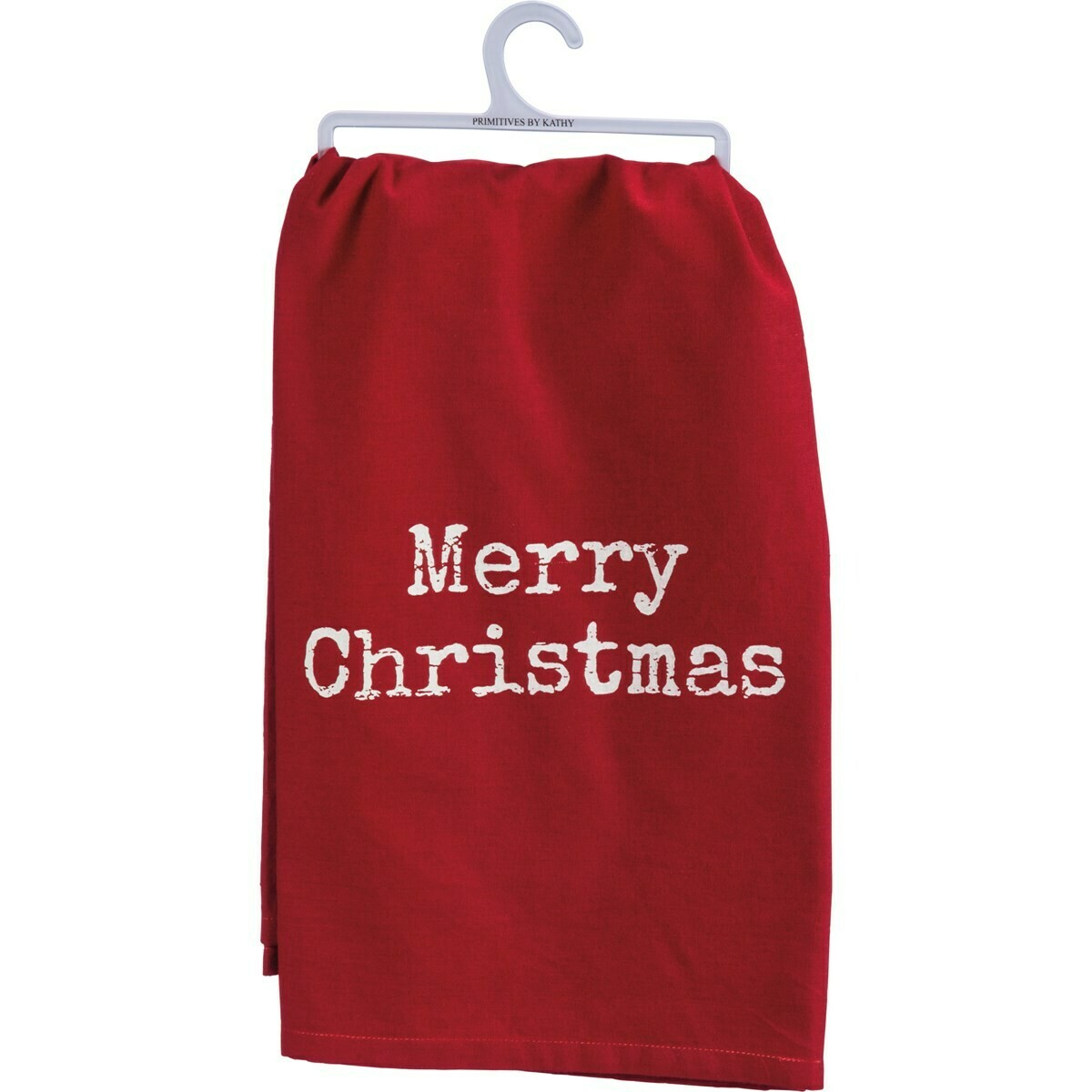 Red Merry Christmas Towel