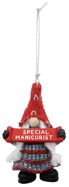Special Manicurist Gnome Ornament