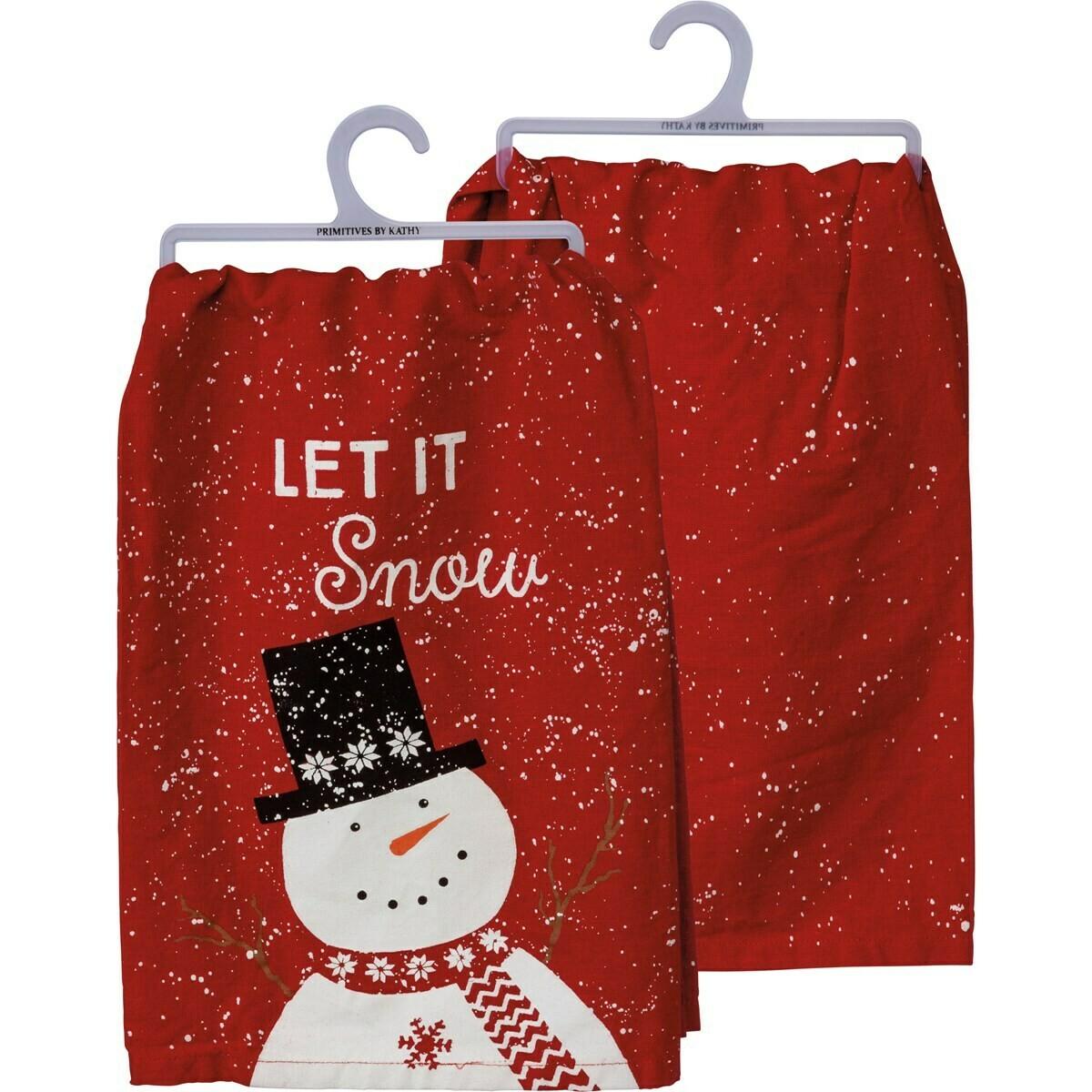 Let it Snow Towel