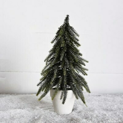 Sm Glitter Tree in Pot