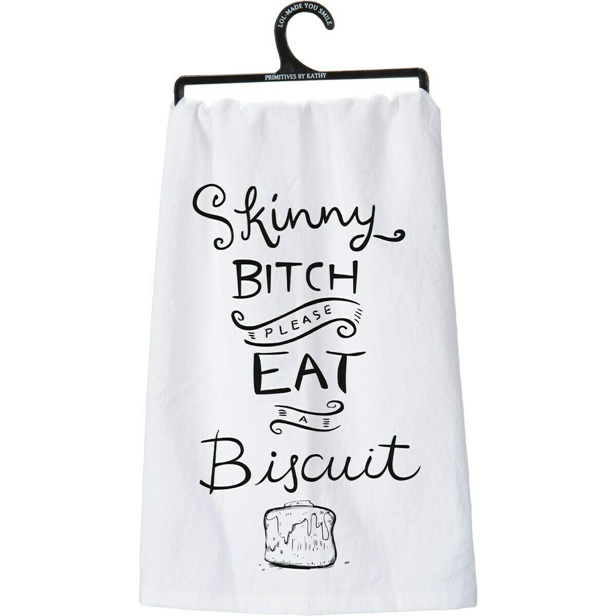 Eat a Biscuit Towel