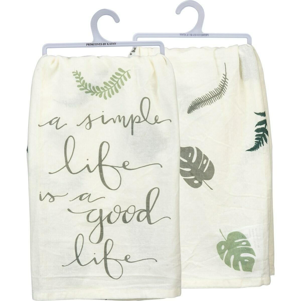 Simple Life Towel