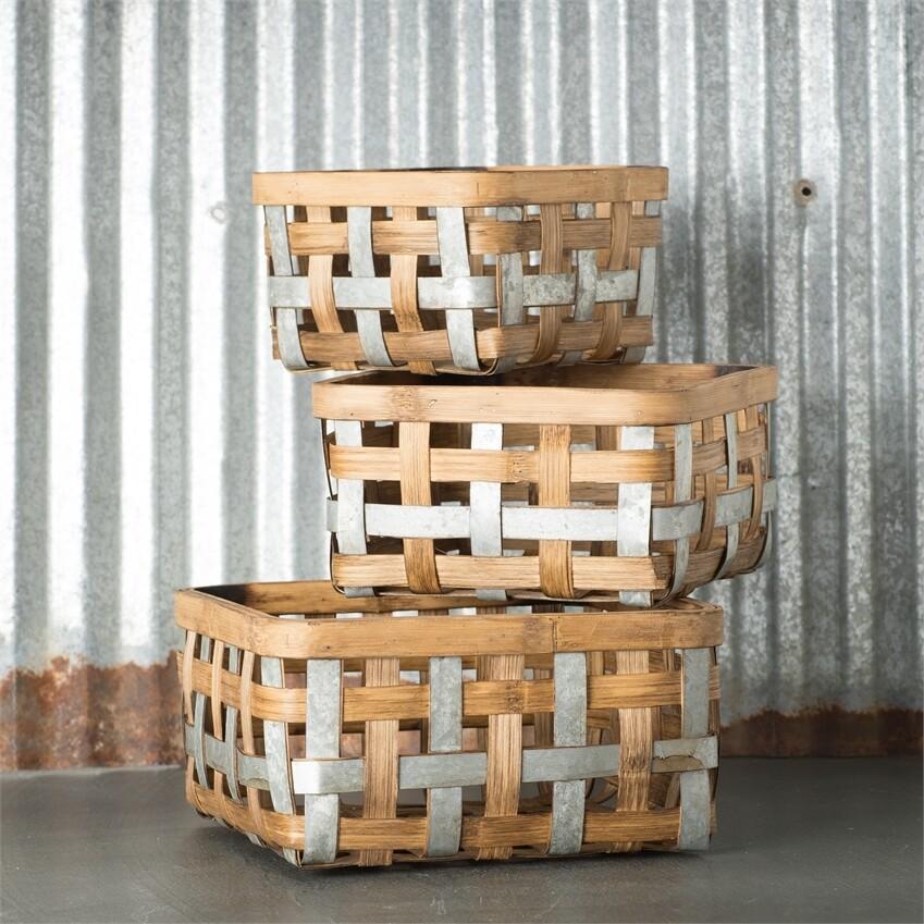Lg Bushel Basket