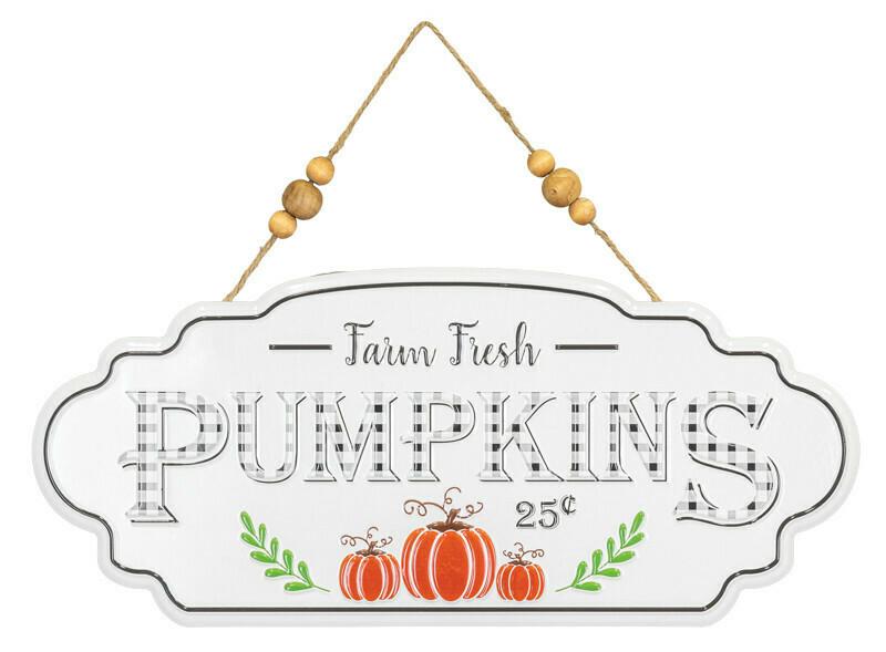 Farm Fresh Pumpkins Hanger