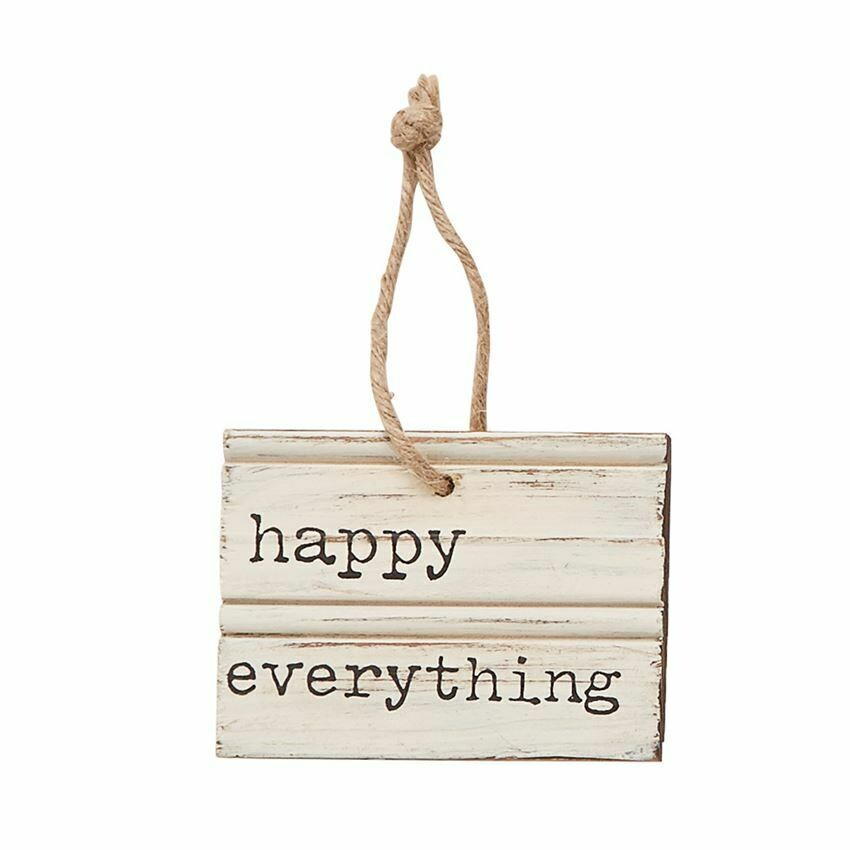Happy Everything Wooden Hanger