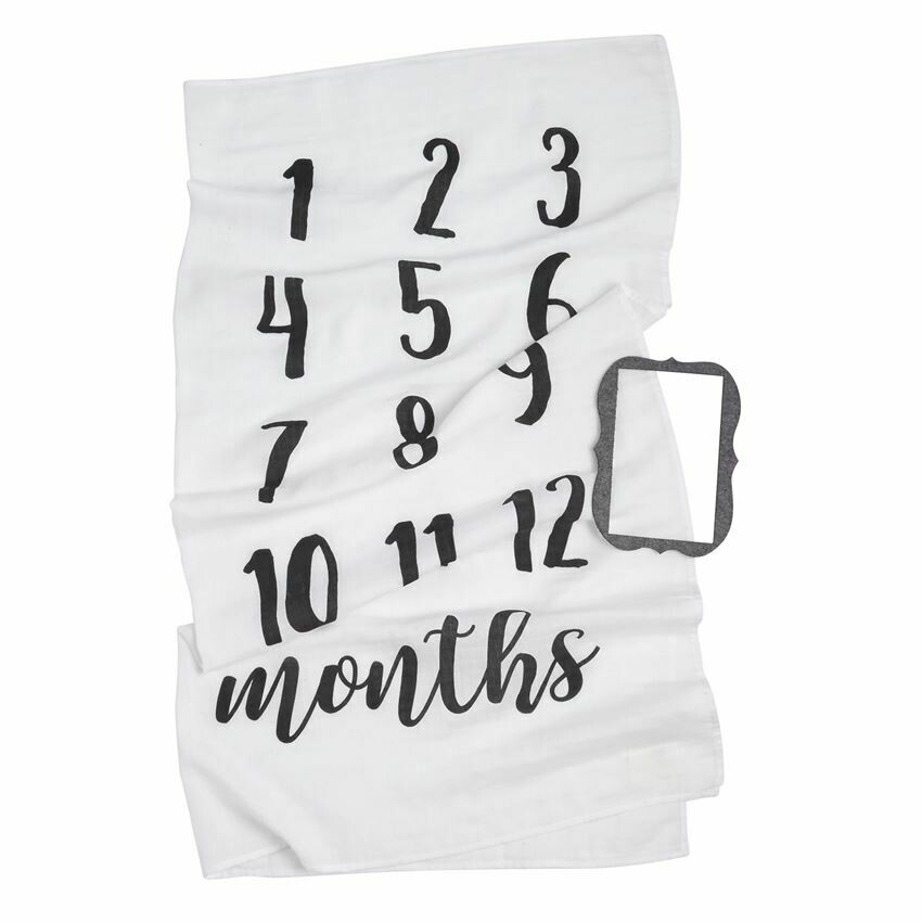 Monthly Milestone Blanket