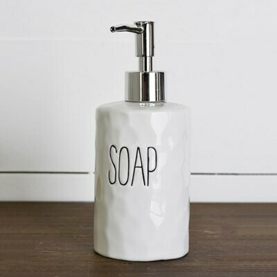 Long Letter Soap Dispenser
