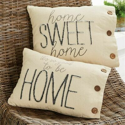 So Good Home Canvas Pillow