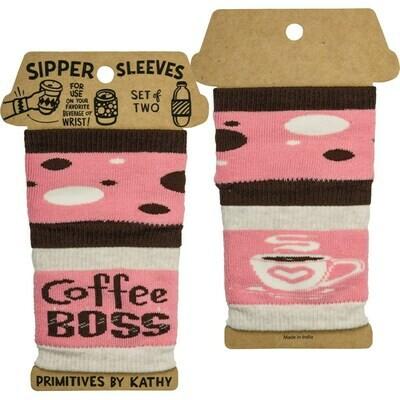 Coffee Boss Sipper Sleeves