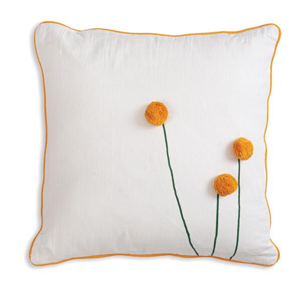 Sun Ball Flower Pillow