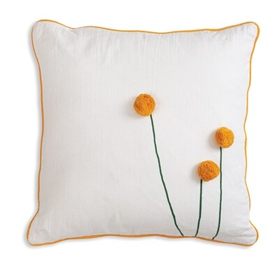 Sun Ball Flower Pillow