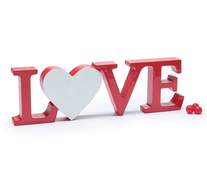 Love Heart Shelf Sitter