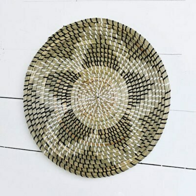 Star Seagrass Weave Wall Art