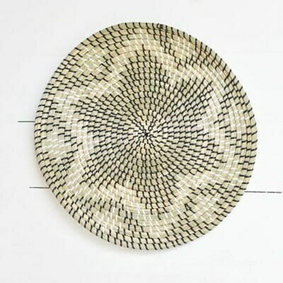 Lotus Seagrass Weave Wall Art