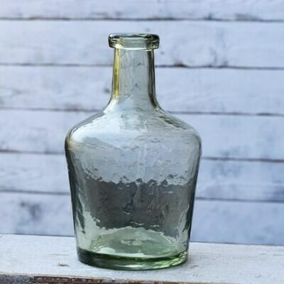 Lt Gray Green Glass Vase