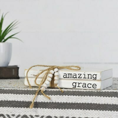 Amazing Grace Wood Book Bundle