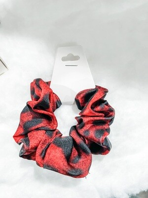 Red & Black Scrunchie