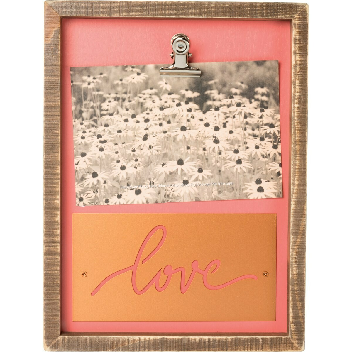 Love Box Sign Frame