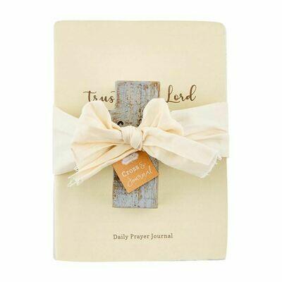 Faith Cross Prayer Journal Set