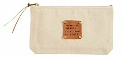 Beauty Beast Canvas Pouch