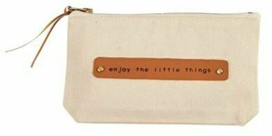 Little Things Canvas Pouch