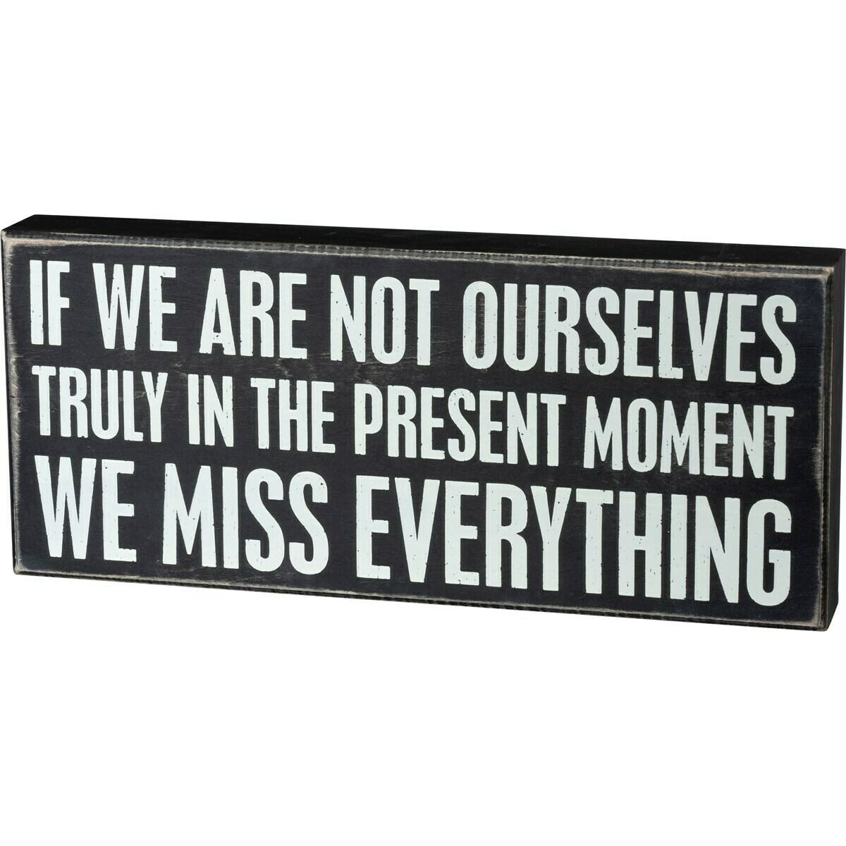 Miss Everything Box Sign