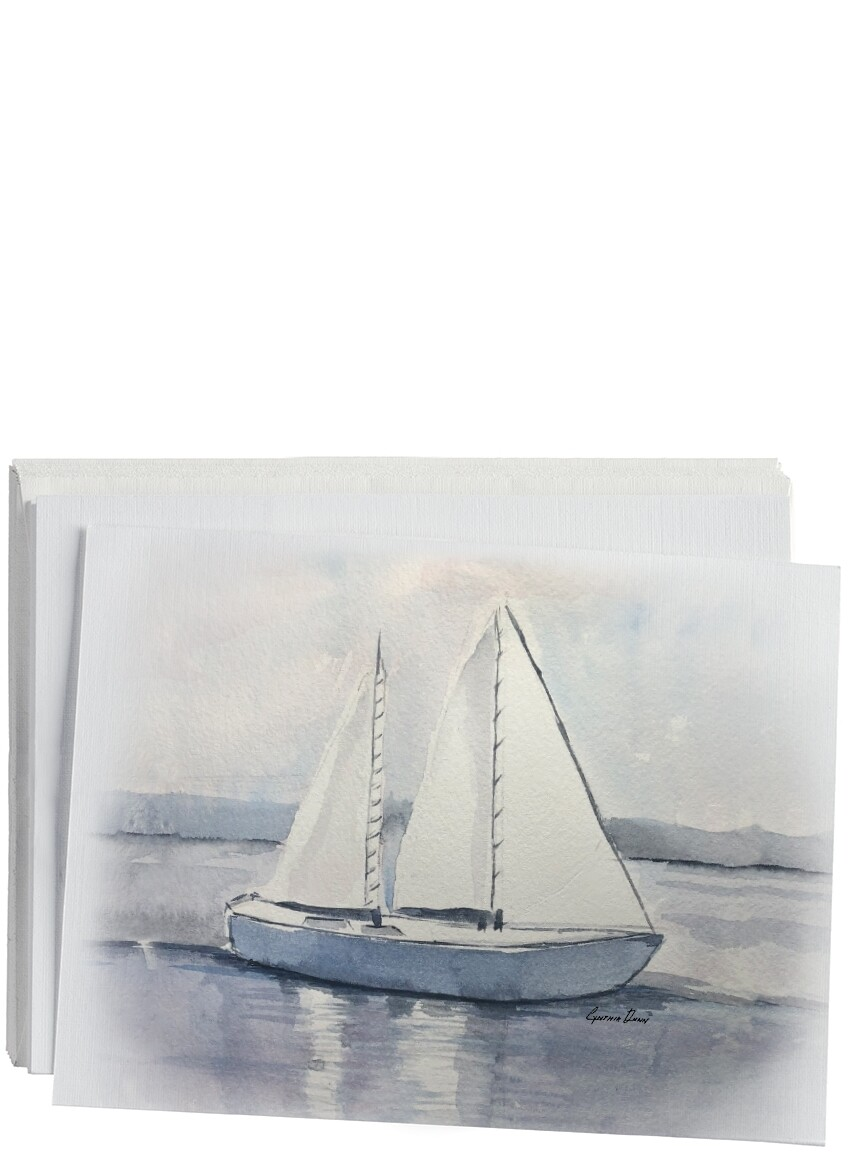 Sailboat Notecard Set