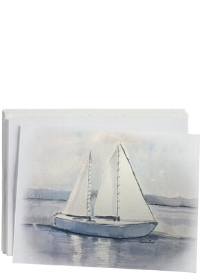 Sailboat Notecard Set