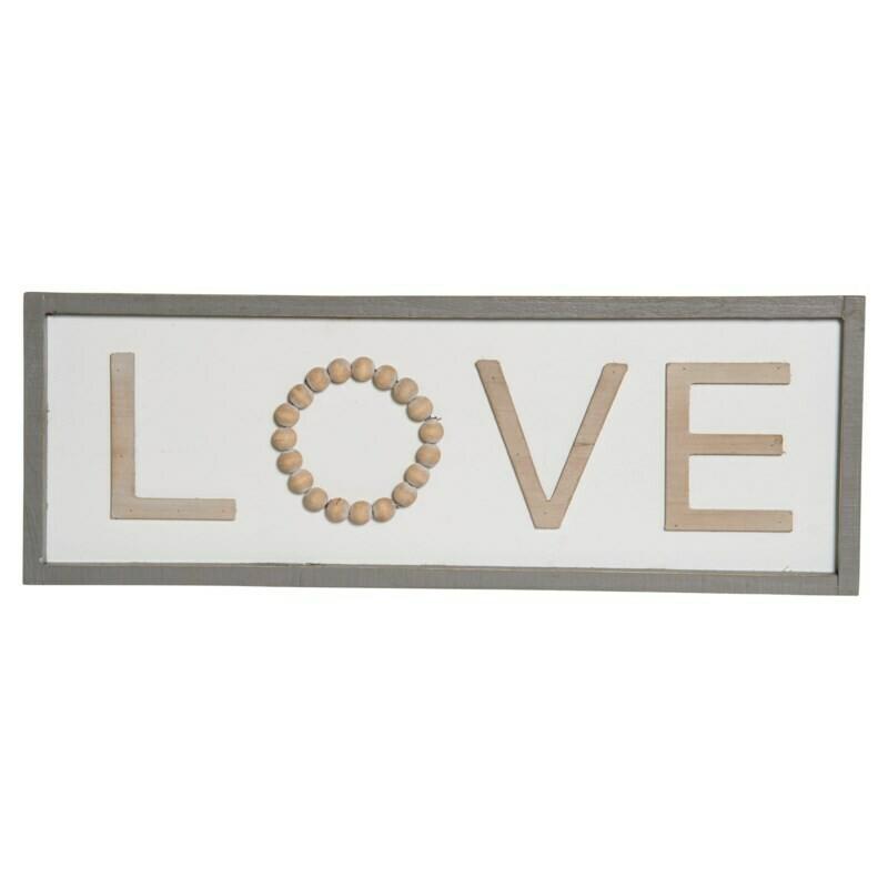 Love Beaded Sign