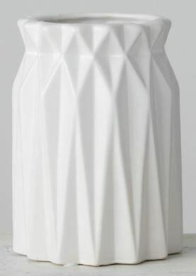 Lg Origami Vase