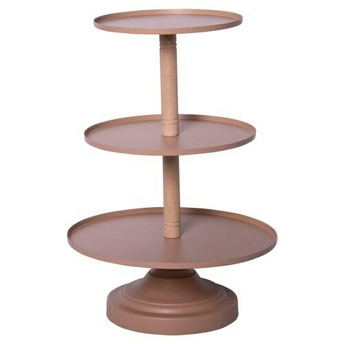 3-Tiered Metal Tray